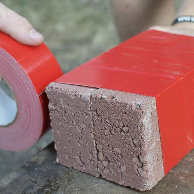 Duct Tape on Bricks